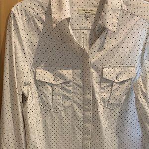 Rag and Bone Button Up Shirt. Stars.